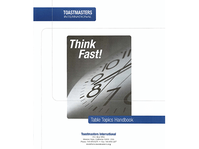 Think Fast Table Topic Handbook